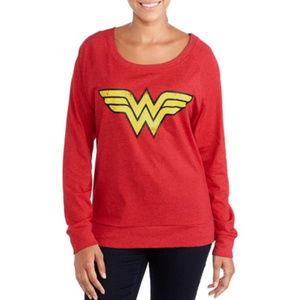 DC Comics Wonder Woman long sleeve top sweater M